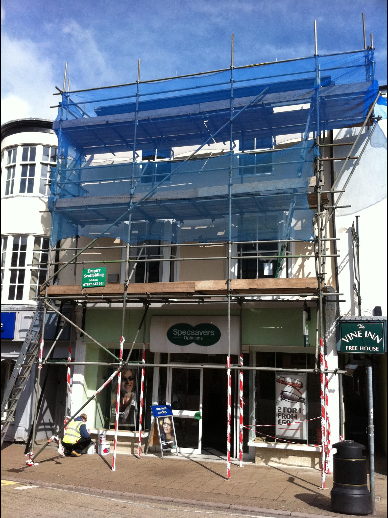 Shop refurbishments